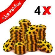 ۸ coins 4x